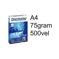 Discovery 75 g/m² Papier A4. 75 g/m² (doos 5 x 500 vel)