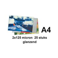GBC Lamineerhoes  A4 2x125micron 25stuks