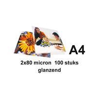 GBC Lamineerhoes  A4 2x80micron 100stuks
