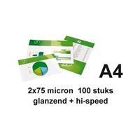 GBC Lamineerhoes  A4 highspeed 2x75micron 100stuks