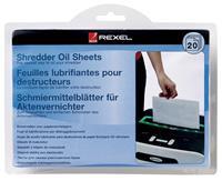 Olie voor papiervernietiger sheet  20vel