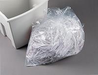 Opvangzakken papiervernietigers Plastic (pak 100 stuks)