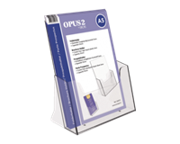 opus2 Folderhouder  A5 transparant
