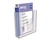 opus2 Folderhouder  wand A5 transparant