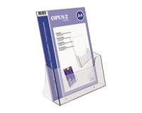 opus2 Folderhouder  A4 transparant