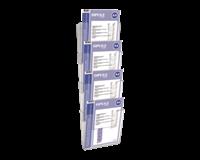 opus2 Folderhouder  A4 wand staand koppelbaar transparant