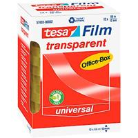 Tesa film office-box 66m x12mm pak met 12 stuks