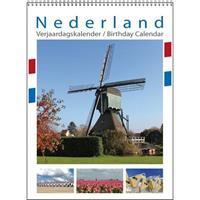 Comello Nederland Verjaardagskalender A4