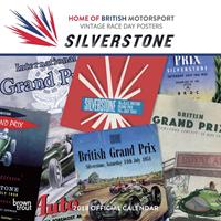 Browntrout Silverstone Posters Kalender 2018