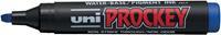 Uni-ball permanent marker Prockey PM-126 blauw