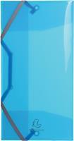 Exacompta elastomap Iderama, 3 kleppen, uit PP, geassorteerde kleuren