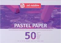 Van Gogh Pastelpapier 90 g/m² ft A3, blok met 50 vellen