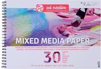 Van Gogh Mix Media papier 250 g/m² ft A3, blok met 30 vellen