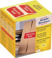 Beveiligingsetiketten Security Seal, doosje van 200 stuks