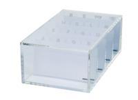 Plakbandhouder  acryl transparant