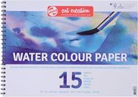 Talens Art Creation aquarelpapier 240 g/m² ft A3, blok met 15 vellen