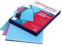 Pergamy omslagen ft A4, 250 micron, glanzend, pak van 100 stuks, trendy roze
