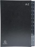 Exacompta sorteermap Ordonator 24 vakken met tabs A-Z, zwart