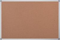 Pergamy kurkbord met aluminium frame ft 120 x 90 cm