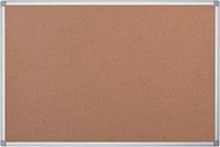 Pergamy kurkbord met aluminium frame ft 180 x 90 cm