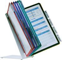 durable VARIO® tafeldisplaysysteem. 10 compartimenten. A4. assorti