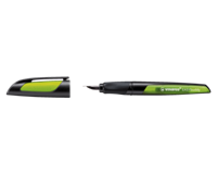 Stabilo Easy Buddy: Zwart/lime M Nib