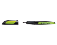 Stabilo Easy Buddy: Zwart/lime L Nib