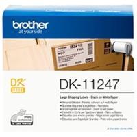 Brother Etiket  DK-11247 103x164mm verzenden 180stuks