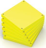 Memoblok  Spot Notes 75x75mm geel
