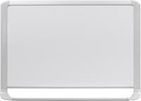 MasterVision. magnetisch whiteboard. email. glanzend wit oppervlak. lichtgrijs frame. 600 x 900 mm