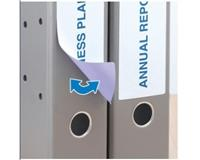 herma Rugetiket  breed 61x192mm verwijderbaar blauw