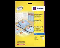 avery Cd inlegkaart  J8435-25 151x118mm 165gr