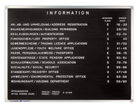 Premium - Informatiebord - 40 x 60 cm
