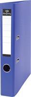 Pergamy ordner, voor ft A4, uit PP en papier, rug van 5 cm, blauw