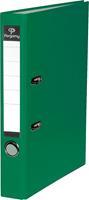 Pergamy ordner, voor ft A4, uit PP en papier, rug van 5 cm, groen