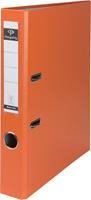 Pergamy ordner, voor ft A4, uit PP en papier, rug van 5 cm, oranje