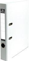 Pergamy ordner, voor ft A4, uit PP en papier, rug van 5 cm, wit