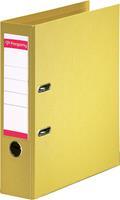 Pergamy ordner, voor ft A4, volledig uit PP, rug van 8 cm, geel