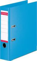 Pergamy ordner, voor ft A4, volledig uit PP, rug van 8 cm, lichtblauw