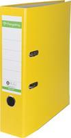 Pergamy ordner, voor ft A4, uit Recycolor papier, rug van 8 cm, geel