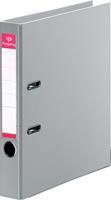 Pergamy ordner, voor ft A4, volledig uit PP, rug van 5 cm, grijs