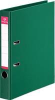 Pergamy ordner, voor ft A4, volledig uit PP, rug van 5 cm, groen
