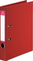 Pergamy ordner, voor ft A4, volledig uit PP, rug van 5 cm, rood
