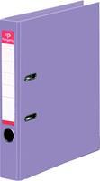 Pergamy ordner, voor ft A4, volledig uit PP, rug van 5 cm, violet