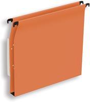 Pergamy hangmap voor kasten, ft A4 (tussenafstand 330 mm), bodem 30 mm, oranje, pak van 25 stuks