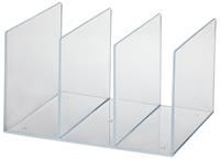 Perforator  2-gaats 8vel acryl transparant