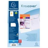 Exacompta Kreacover® Personaliseerbare showalbums harde PP met vaste rug - 30 tassen - 60 zichten - A4