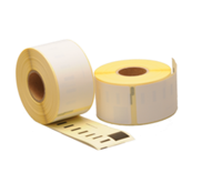 1976411 compatible labels, 54mm x 25mm, 160 etiketten, blanco