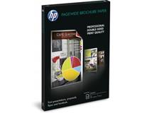 hp PageWide Glossy Brochure papier voor inkjetprinter A3 (297x420 mm) Glans Wit