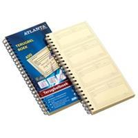 Atlanta by Jalema Terugbelboek  74x128mm 400 notities 100vel